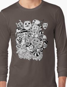 Abstract Monsters Long Sleeve T-Shirt
