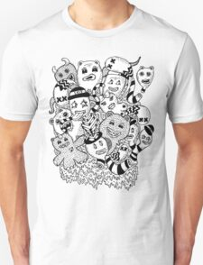 Abstract Monsters Unisex T-Shirt