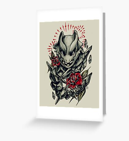 Steelix  Greeting Card