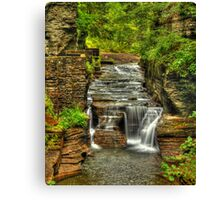 Treman Falls Canvas Print