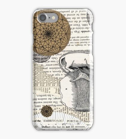 Embryonic Portals iPhone Case/Skin