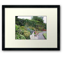 Walled garden, Reynolds Park Framed Print