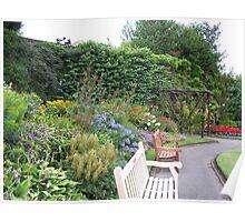 Walled garden, Reynolds Park Poster