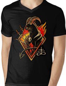 Houndoom Mens V-Neck T-Shirt