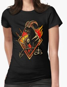Houndoom Womens Fitted T-Shirt
