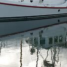 Marina Reflections  by Elaine Bawden