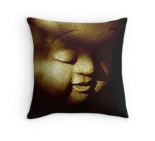 Bubba Buddha Throw Pillow