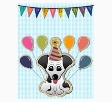 Cute Puppy Birthday Card Unisex T-Shirt