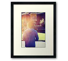 Suburbia Framed Print