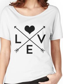 Love Is Everywhere Women's Relaxed Fit T-Shirt