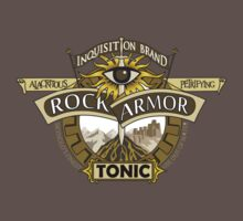 Rock Armor Tonic Logo - Mono  by efleck
