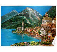 Hallstatt-Austria Poster