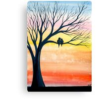 Early Birds Canvas Print