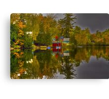Lake Paradox Canvas Print