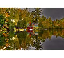 Lake Paradox Photographic Print