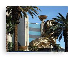 MGM Lion In Las Vegas Canvas Print