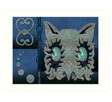 Owl Card 1 Art Print