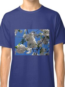 White Blossoms of Spring Classic T-Shirt