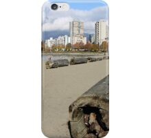 The Sands of English Beach, Vancouver City, Canada  iPhone Case/Skin