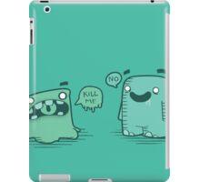 Kill Me iPad Case/Skin