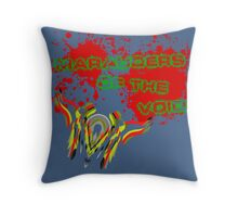 Marauders of the Void Throw Pillow