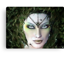 Something Wicked.. Canvas Print
