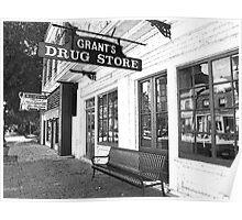 Hannibal MO Grant's Drug Store Poster