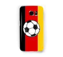 German Flag with Football Samsung Galaxy Case/Skin