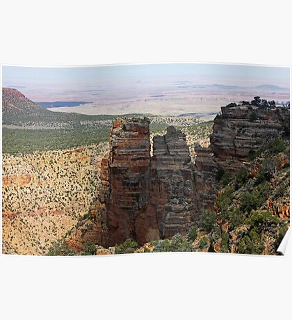 Towering Layers of the Grand Canyon Poster