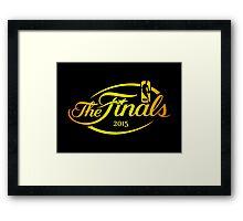 NBA FINALS 2015 Framed Print