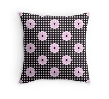 Flower Mania Throw Pillow