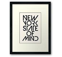 New York State of Mind Framed Print