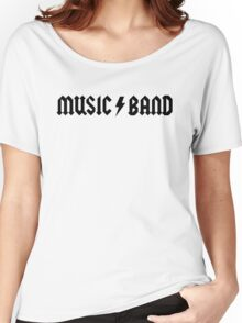 MUSIC / BAND Women's Relaxed Fit T-Shirt