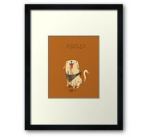 food? Framed Print