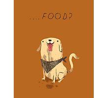 food? Photographic Print