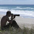 Mermaid Beach Surfing Photographer by Virginia McGowan