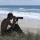 Mermaid Beach Surfing Photographer by Virginia McGowan