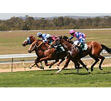 Wine Country Race Club Photographic Print