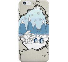 Winter Hole iPhone Case/Skin