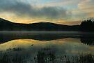 Mist on Georgetown Lake by Ken McElroy