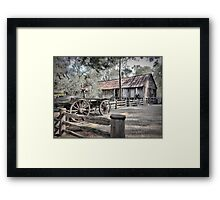 Down But Not Out at Sunbury Framed Print