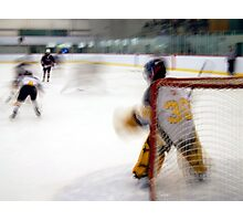Saturday Morning Hockey Practice Photographic Print