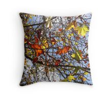 Tree Jewels Throw Pillow