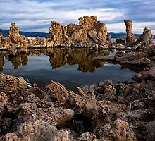 Mirror Pool, Mono Lake, CA by Ed Lark