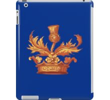 Outlander Book Cover Crown Design iPad Case/Skin