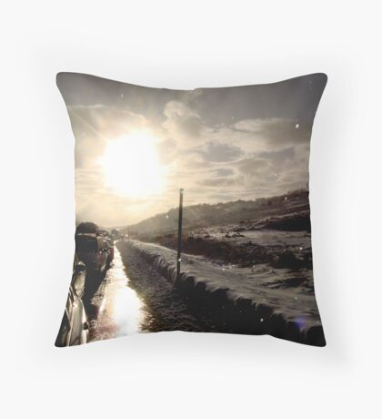 Perisher. Snow.  Throw Pillow
