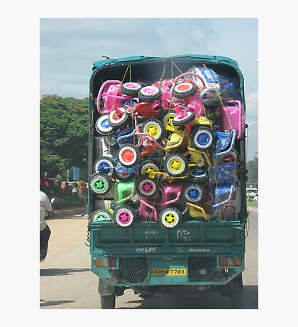Colorful Load Photographic Print