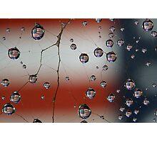 Web of Patriotism Photographic Print