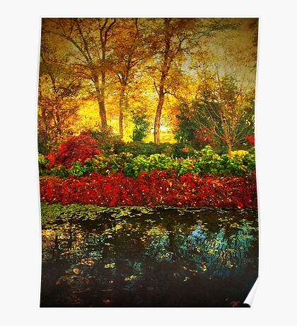 Autumn the Japanese Gardens 4 Poster