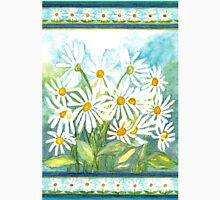 IN LOVE WITH DAISIES - CHEERFUL WHITE BEAUTIES Womens Fitted T-Shirt